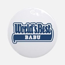 WB Dad [Sardinian] Ornament (Round)