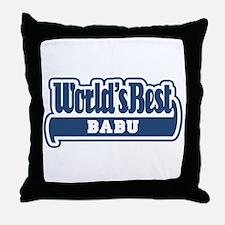 WB Dad [Sardinian] Throw Pillow