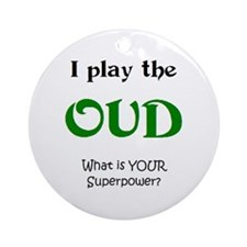 play oud Ornament (Round)
