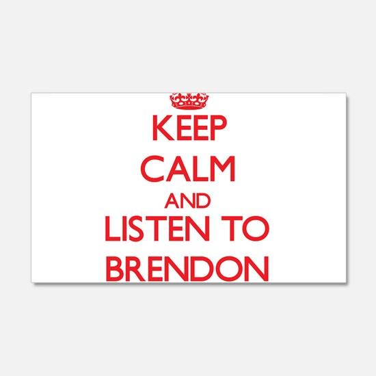 Keep Calm and Listen to Brendon Wall Decal