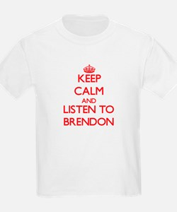Keep Calm and Listen to Brendon T-Shirt