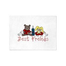 Best Friends 5'x7'Area Rug