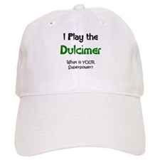play dulcimer Baseball Cap