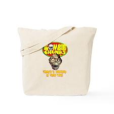 Zombie Chunks Tote Bag