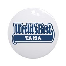 WB Dad [Samoan] Ornament (Round)