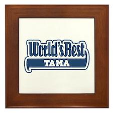 WB Dad [Samoan] Framed Tile