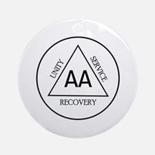 UNITY RECOVERY SERVICE Ornament (Round)