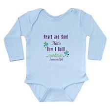 Tennessee Girl Long Sleeve Infant Bodysuit