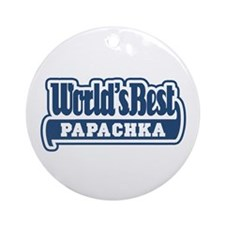 WB Dad [Russian] Ornament (Round)