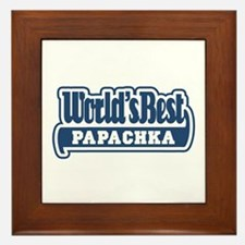 WB Dad [Russian] Framed Tile