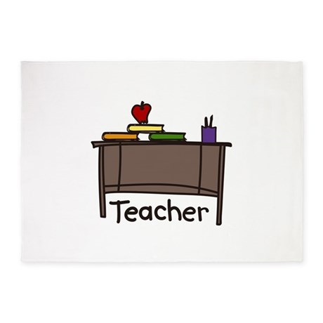 Teacher 5'x7'Area Rug