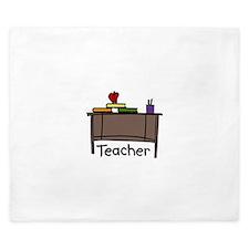 Teacher King Duvet