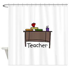 Teacher Shower Curtain