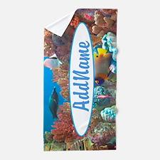 Fish Tank Beach Towel