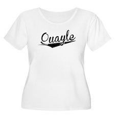 Quayle, Retro, Plus Size T-Shirt