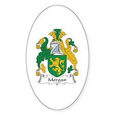 Morgan III (Wales) Oval Decal