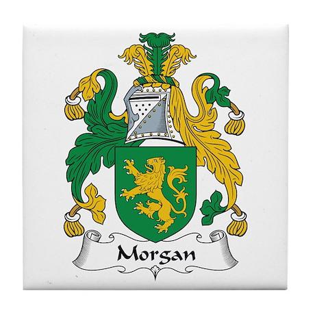 Morgan III (Wales) Tile Coaster
