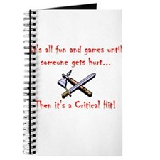 Critical Hit dark Journal