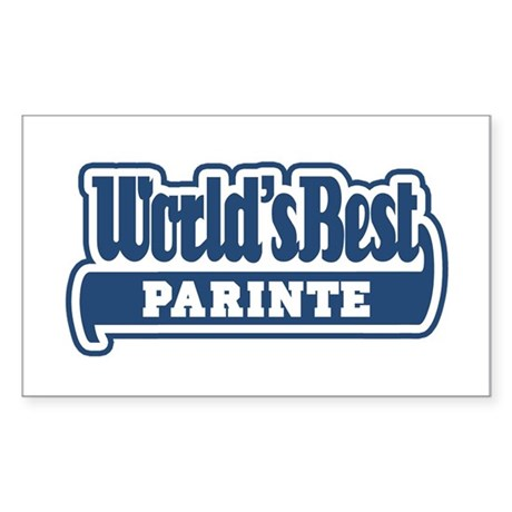 WB Dad [Romanian] Rectangle Sticker