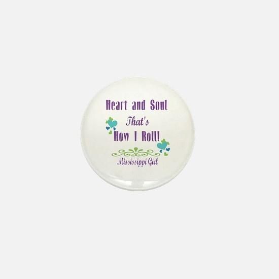 Mississippi Girl Mini Button