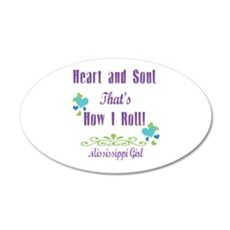 Mississippi Girl Wall Decal