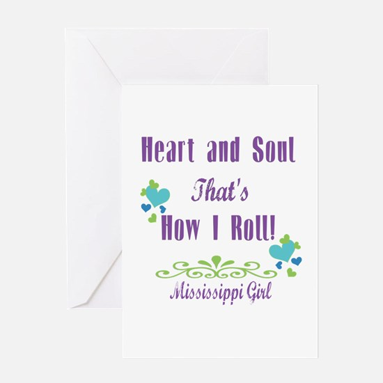Mississippi Girl Greeting Card