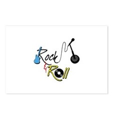 Rock Roll Postcards (Package of 8)