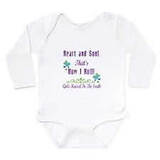 GRITS Girl Long Sleeve Infant Bodysuit