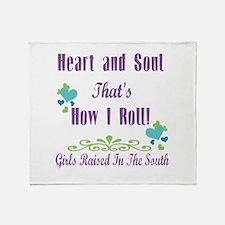GRITS Girl Throw Blanket