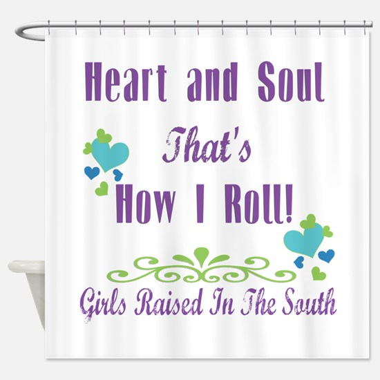 Grits Girl Shower Curtain