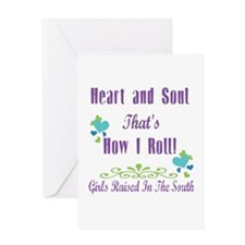 GRITS Girl Greeting Card