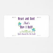 GRITS Girl Aluminum License Plate