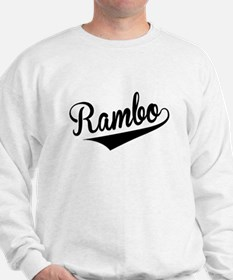 Rambo, Retro, Jumper