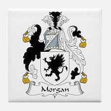 Morgan II (Wales) Tile Coaster