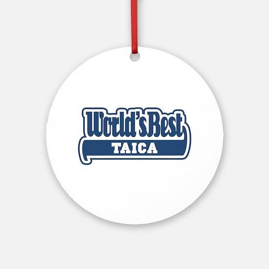 WB Dad [Romanian] Ornament (Round)