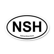 NSH National Show Horse oval Oval Car Magnet