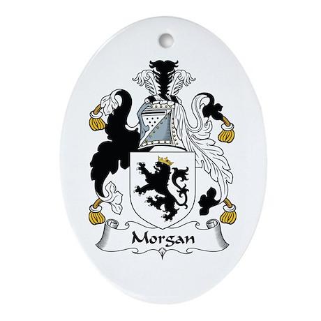 Morgan I (Wales) Oval Ornament