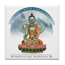 Medicine Buddha Tile Coaster
