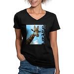 Safari Women's V-Neck Dark T-Shirt