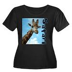 Safari Women's Plus Size Scoop Neck Dark T-Shirt
