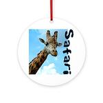 Safari Ornament (Round)