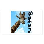 Safari Rectangle Sticker