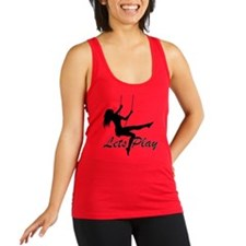 Lets Play Racerback Tank Top