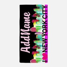 New York City Beach Towel