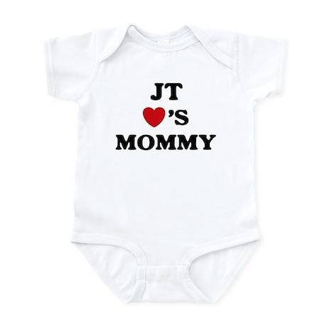 Jt loves mommy Infant Bodysuit