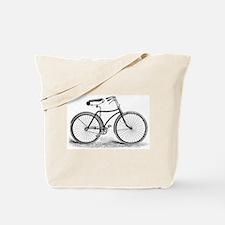 VintageBicycle Tote Bag