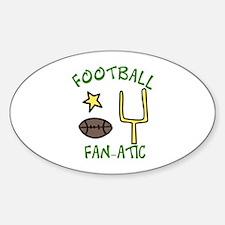 FOOTBALL FAN-ATIC Decal