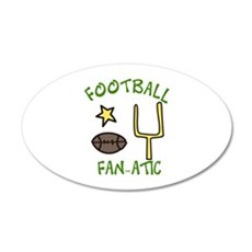 FOOTBALL FAN-ATIC Wall Decal