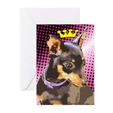 Minature Pincher Greeting Cards (Pk of 10)