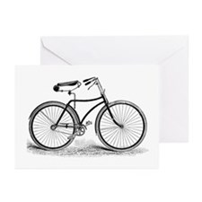 VintageBicycle Greeting Cards